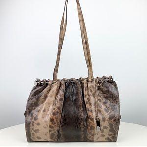 GUCCI Rare Python Shoulder Bag